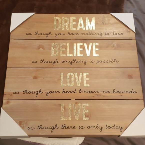 Other - Home decor sign